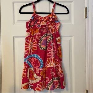 OLD NAVY Ruffled Paisley Floral Print Sundress